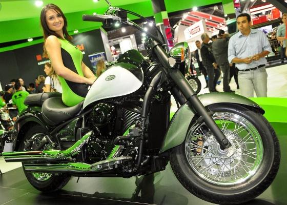 A Kawasaki é uma das marcas que oferecem vantagens para os visitantes - Doni Castilho/Infomoto