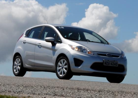 <b>Ford New Fiesta Hatch: linhas ousadas e conteúdo que vai do mínimo ao caro</b>  - Divulgação