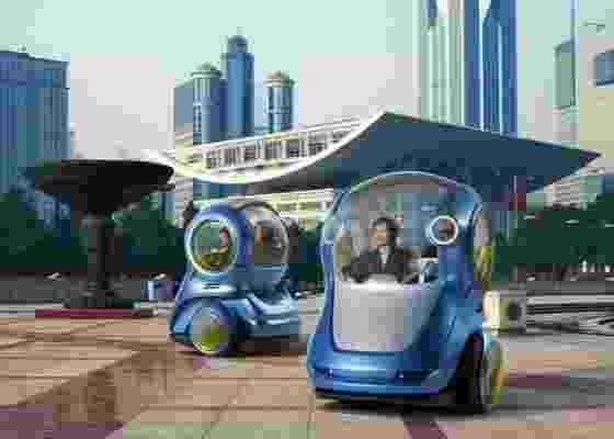 Futuro da marca passa por veículos elétricos e individuais, com o Chevrolet EN-V - Divulgação