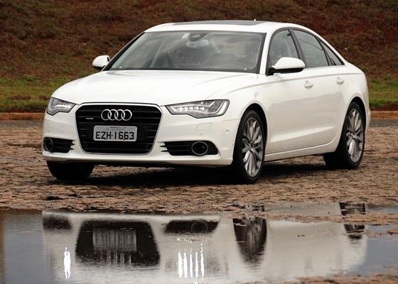 <b>Audi A6: esse visual você já conhece; o prazer a bordo você precisa experimentar</b> - Murilo Góes/UOL