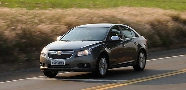 Chevrolet Cruze topo de linha é, segundo o Cesvi, o carro mais defendido contra furtos do Brasil - Murilo Góes/UOL