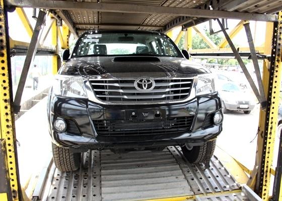 <b>Toyota Hilux 2012: cara de sedã e opção de propulsor bicombustível</b> - Marlos Ney Vidal/Autos Segredos/UOL
