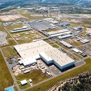 Vista aérea da fábrica da Ford em Camaçari (BA), que ganhará em breve vizinho incômodo - Divulgação
