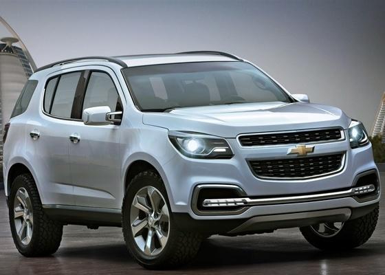 """Conceito Chevrolet Trailblazer, desenvolvido pela GM do Brasil, dá pistas do quão luxuosa será a nova geração do modelo, que ficará longe do estigma de servir """"apenas"""" para ser carro de polícia"""