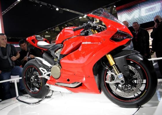 O evento apresenta lançamentos como a Ducati Panigale e ocupa uma área de 58.200 m² - Arthur Caldeira/Infomoto