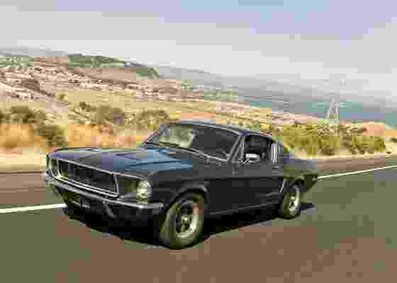 "Duas unidades do Ford Mustang GT foram utilizadas durante as filmagens de ""Bullit"", em 1968 - Evan Klein/Steve McQueen Online"