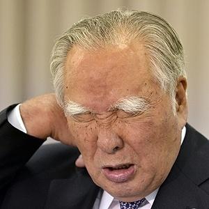 Osamu Suzuki, presidente da Suzuki Motors - AFP