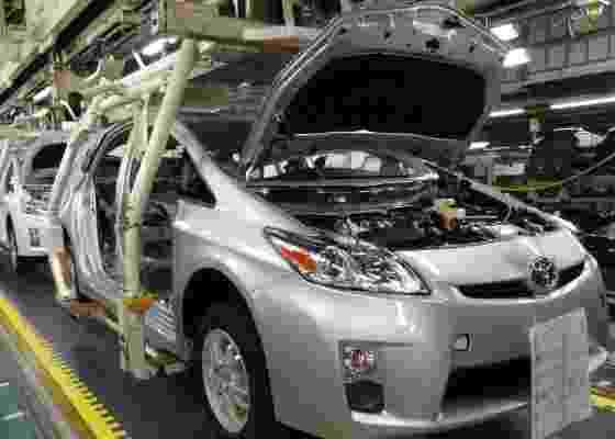 <b>Linha de montagem do Prius, no Japão: daqui sai o futuro da Toyota no planeta</b> - Claudio de Souza/UOL