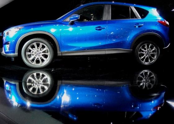 <b>Crossover médio CX-5 estreia em 2012 com pacotão da tecnologia Skyactiv</b> - Claudio de Souza/UOL