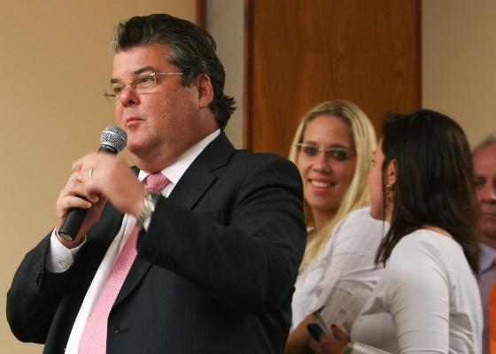 Jose Luiz Gandini, presidente da Abeiva, pretente protocolar carta de propostas em Brasília - Sergio Lima/Folhapress