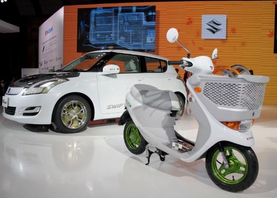 Em sua 42ª edição, o Tokyo Motor Show apresenta o futuro dos veículos de duas rodas - Arthur Caldeira/Infomoto