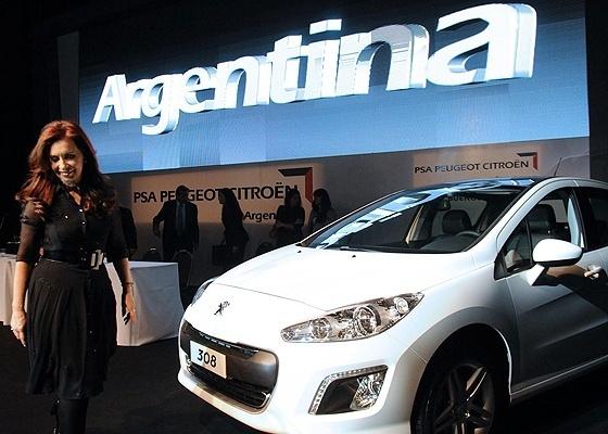 AFP/Presidência da Argentina