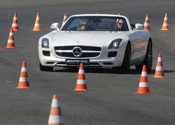 Mercedes-Benz 63 AMG Roadster: bom de curva, excelente de arrancada -- e tudo a céu aberto  - Murilo Góes/UOL