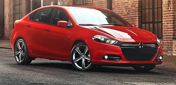 Dodge Dart: nas lojas dos EUA em junho, no Brasil talvez em 2013 -- e talvez ele vire um Fiat - Divulgação
