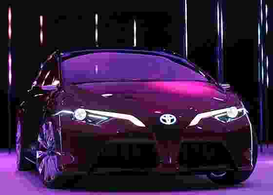 Toyota NS4 Concept: um luminoso esboço de sedã para o futuro da marca - AFP