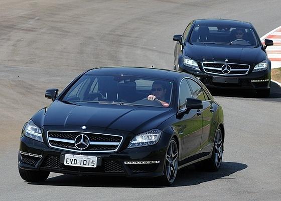 <b>Mercedes-Benz CLS 63 AMG fotografado no lugar certo: uma pista de corrida</b> - Murilo Góes/UOL