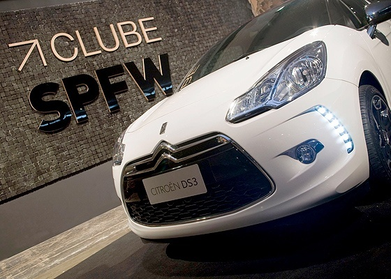 Citroën DS3 na Fashion Week: modelo que promete luxo e tecnologia chega no 1º semestre - Divulgação