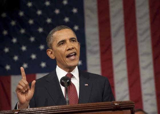 <b>Em discurso no Congresso, Obama elogia retorno da GM à liderança mundial</b> - Saúl Loeb/EFE