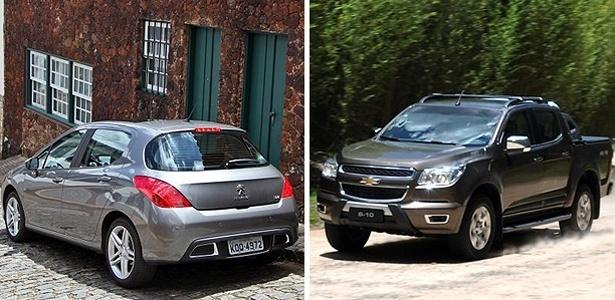 Peugeot 308 e Chevrolet S10 são (enormes) passos à frente para as duas marcas - Divulgação
