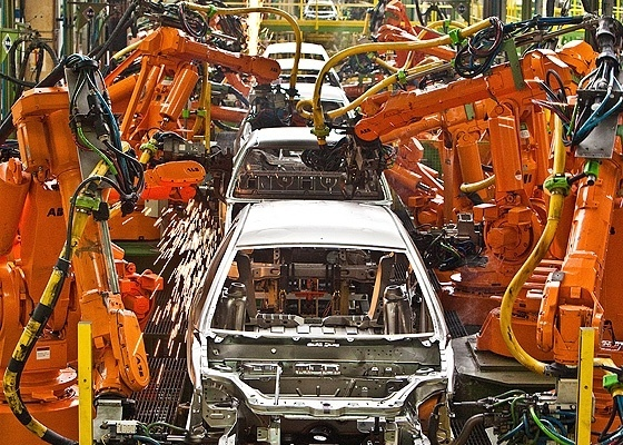 """Fábrica de montadora americana que opera em São Paulo: definir a """"nacionalização de conteúdo"""" dos veículos é uma questão semântica ou de política industrial do Brasil?  - Rodrigo Paiva/Folhapress -- 1.6.2010"""
