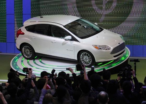 Focus de terceira geração é arma da Ford para avançar no mercado chinês (19.4.2011) - Carlos Barria/Reuters