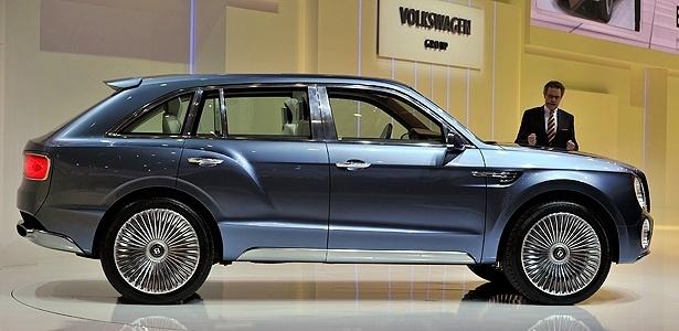 É sério, isso? É, mas por enquanto é só um conceito, denominado <b>Bentley EXP 9 F</b> - AFP